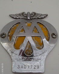 AA Badge 1957 to 1959