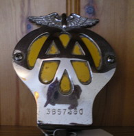 AA Badge 1960 to 1961