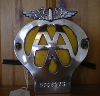 AA Badge 1962 to 1963
