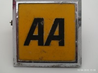 AA Badge 1967