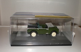 Oxford Diecast Land Rover model