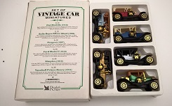 Vintage model car collection