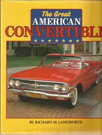 The Great American Convertible ISBN 0854296387