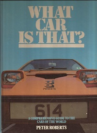 What Car is That ISBN 0861781732