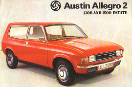 Austin Allegro Estate Brochure