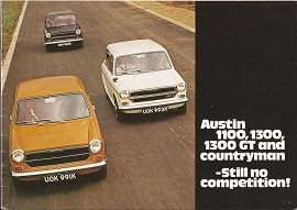 Austin 1100 / 1300 Brochure Publication No.2850
