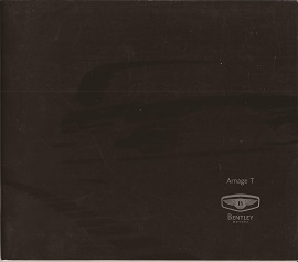 Bentley Arnage T Brochure