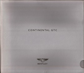 Bentley Continental GTC Brochure