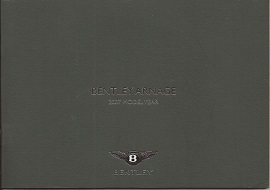Bentley Arnage 2007 Range Brochure