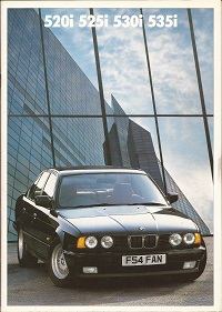 BMW 5 Series Brochure