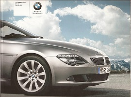 BMW 6 Series Brochure