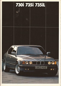 BMW 7 Series Brochure