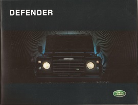 Land rover Defender Brochure