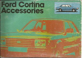 Ford Cortina Accessories Brochure 1979
