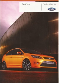 Ford Focus ST Brochure