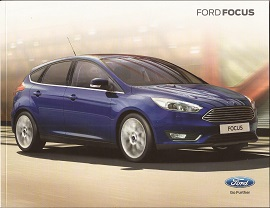 Ford Focus Range Brochure 2016
