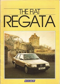 Fiat Regata Brochure