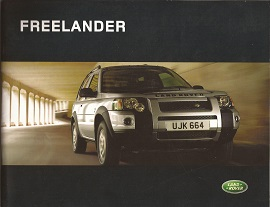 2004 Land Rover Freelander Brochure