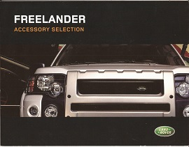 Land Rover Freelander Accessory Brochure