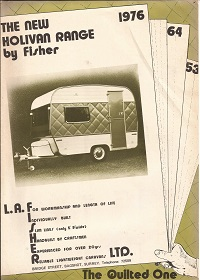 Fisher Holivan Caravan Brochure 1976