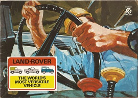 1974 Land Rover Model Range Brochure