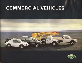 Land Rover Commercial Vehicles Brochure
