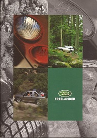 1998 Land Rover Freelander Brochure