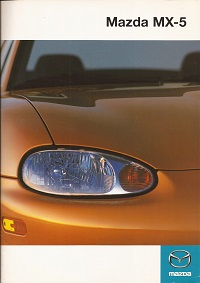 1998 Mazda MX5 Brochure and Specification sheet