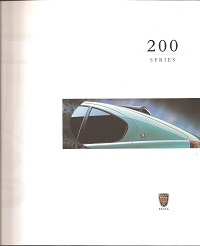 Rover 200 Series Brochure 1998
