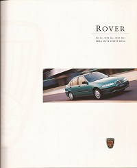 Rover 414 416 and 420 Brochure