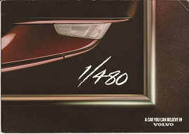 Volvo 480 Celebration Brochure 1995