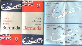Map of Bermuda 1969