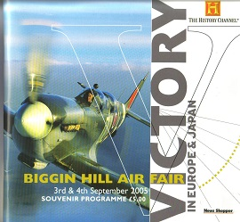 Biggin Hill Air Fair 2005 Programme of Events