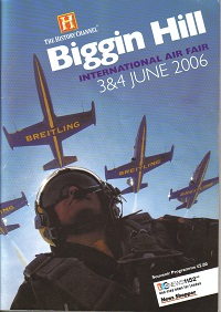Biggin Hill Air Fair 2006 Programme of events