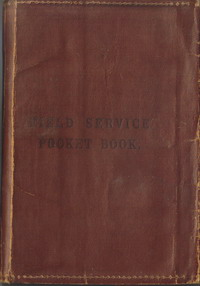 1908 field service pocket book