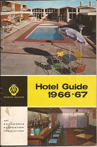 AA New Zealand Hotel Guide 1966-1967