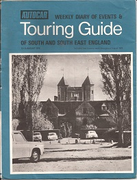 Autocar Touring Guide to Sussex 1970