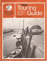 Autocar Touring Guide South Downs 1971