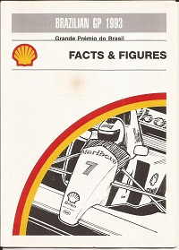 Brazilian Grand Prix 1993 Facts and Figures