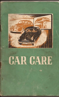 Car Care by C.C. Wakefield & Co. 1953