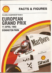 European Grand Prix Facts and Figures 1993