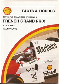 French Grand Prix Facts and Figures 1993