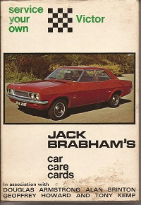 Jack Brabhams Service your own Vauxhall Victor