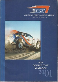 2001 MSA Competitors Yearbook