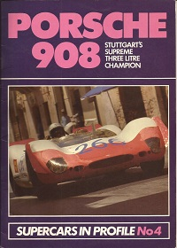 Porsche 908 Supercars in Profile No.4 ISBN 0947973036