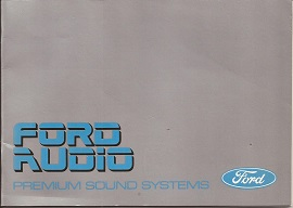 Ford Audio Premium Sound Systems 1986