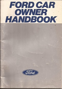 Ford Car Owners Handbook 1978