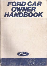 Ford Car Owners Handbook 1979