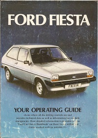 Ford Fiesta Mk1 Operating Guide 1976