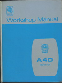 Austin A40 Workshop Manual AKD 927H